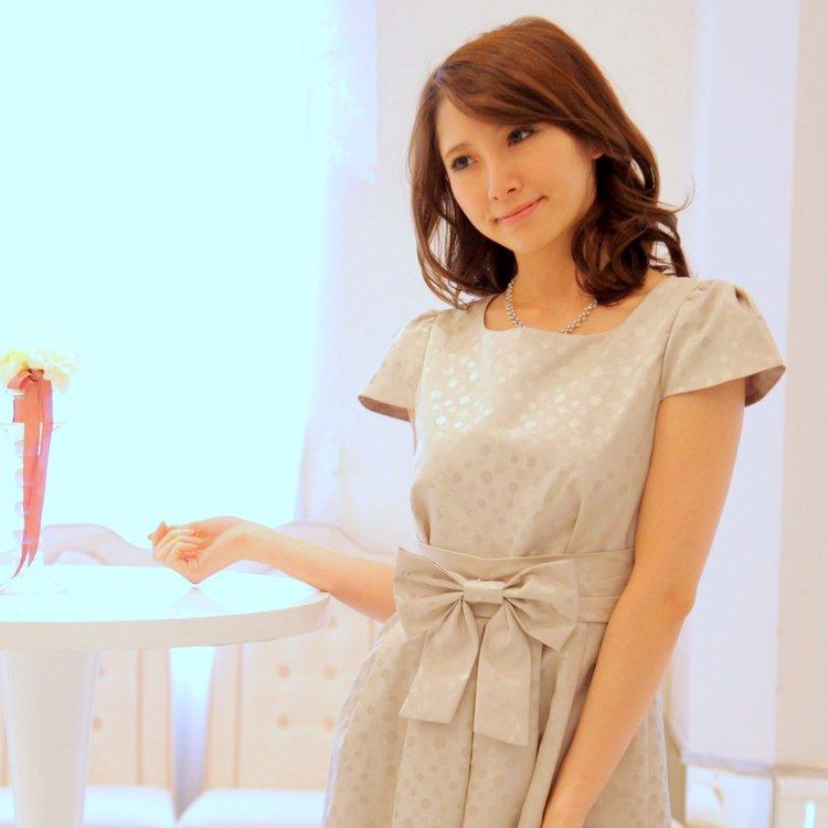 袖あり日本製ワンピース